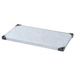 "Stainless Steel Solid Shelf - 1448SS - 14"" x 48"""