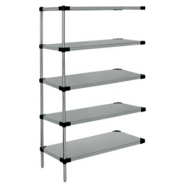 5-Shelf Solid Shelving Add-On Units