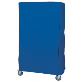 Wire Shelving Cart Cover - Opened