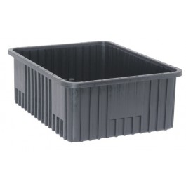 Conductive ESD Dividable Grid Containers DG93080CO