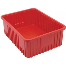 Dividable Grid Storage Containers DG93080 Red