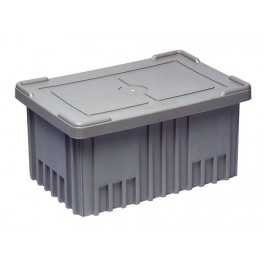 Conductive ESD Plastic Storage Container Covers