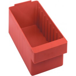 Plastic Storage Drawers QED601 Red