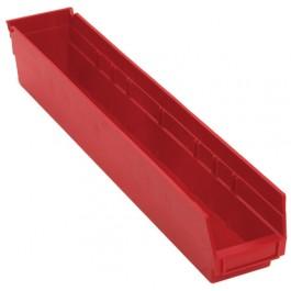 Plastic Shelf Bins QSB105 Red