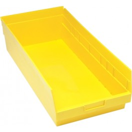 Yellow Plastic Storage Bins