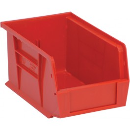 Plastic Storage Bins QUS221 Red