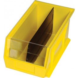 Plastic Storage Bin Clear Windows