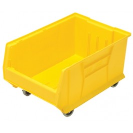 Mobile Plastic Container QUS964MOB Yellow