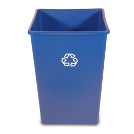 35-Gallon Recycling Square Container