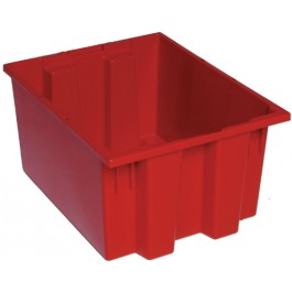 Stack and Nest Storage Totes SNT190 Red