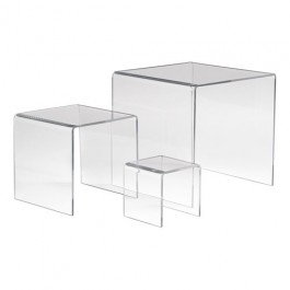 Set of 3 Acrylic Display Risers - ADR-S468
