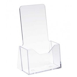 "4"" x 9"" Acrylic Countertop Literature Holder"