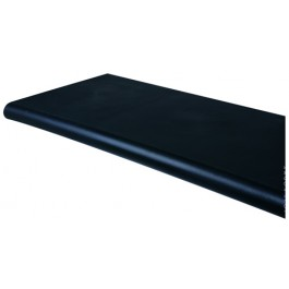 Black Open Bottom Duron Bullnose Shelves