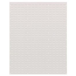 Wall Mount Oyster White Louvered Panels