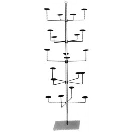 Revolving Millinery Display Rack