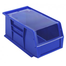 Plastic Storage Bin Clear Cover