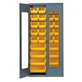 Plastic Storage Bin Security Cabinets