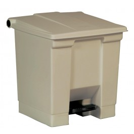 Beige Medical Waste Step-On Container