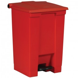 Red Medical Waste Step-On Container