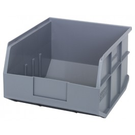 Stackable Shelf Storage Bin - SSB425 Gray