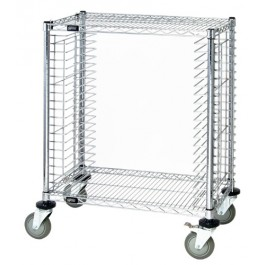 Wire Shelving Cart - Holds 19 Trays