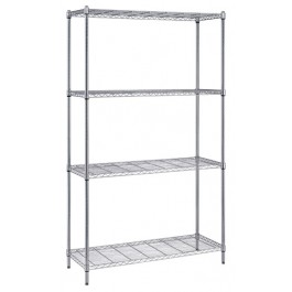 Wire Shelving Unit 18 x 48 x 72