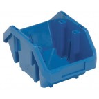Double Sided Plastic Bin Blue
