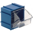 Blue Individual Tip Out Bins