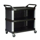 Utility Cart with Enclosed End Panels