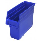 Plastic Shelf Bin QSB801 Blue