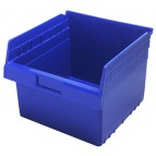 Plastic Shelf Bins QSB809 Blue