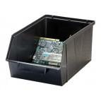 Conductive ESD Plastic Storage Bin with Parts