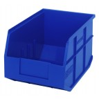 Stackable Shelf Storage Bin - SSB423 Blue