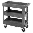 Utility Cart with 3 Shelves
