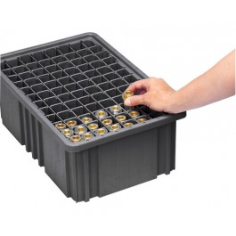 Conductive ESD Plastic Storage Container Long Dividers