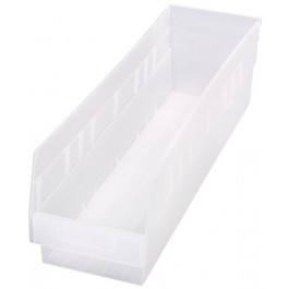 Clear Plastic Storage Bins