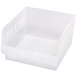 Clear Plastic Storage Bins - QSB209CL