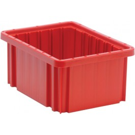 DG91050 Red Dividable Grid Container