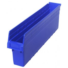 Plastic Shelf Bins QSB805 Blue