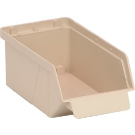 QCS20 Ivory Plastic Bin