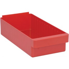 QED606 Red Plastic Drawer