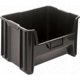 QGH700 Black Plastic Container
