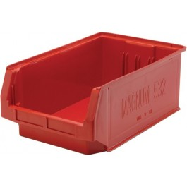 QMS532 Red MAGNUM Plastic Container