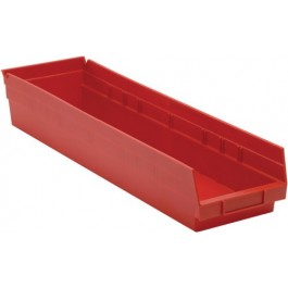 QSB106 Red Plastic Bins