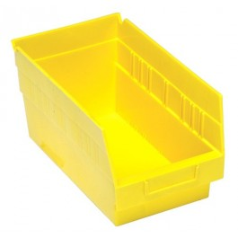 Plastic Storage Bins Red
