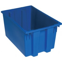 SNT240 Blue Plastic Stack and Nest Tote