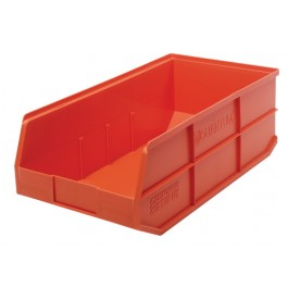 Plastic Stackable Shelf Bin - SSB463 Orange