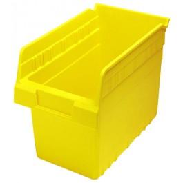 Plastic Shelf Bin QSB802 Yellow