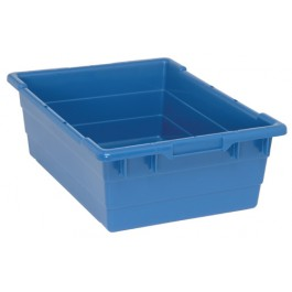  TUB2417-8 Blue Plastic Bus Tub