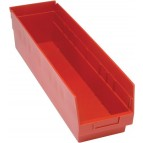 QSB206 Red Plastic Bins